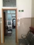 护理室门口